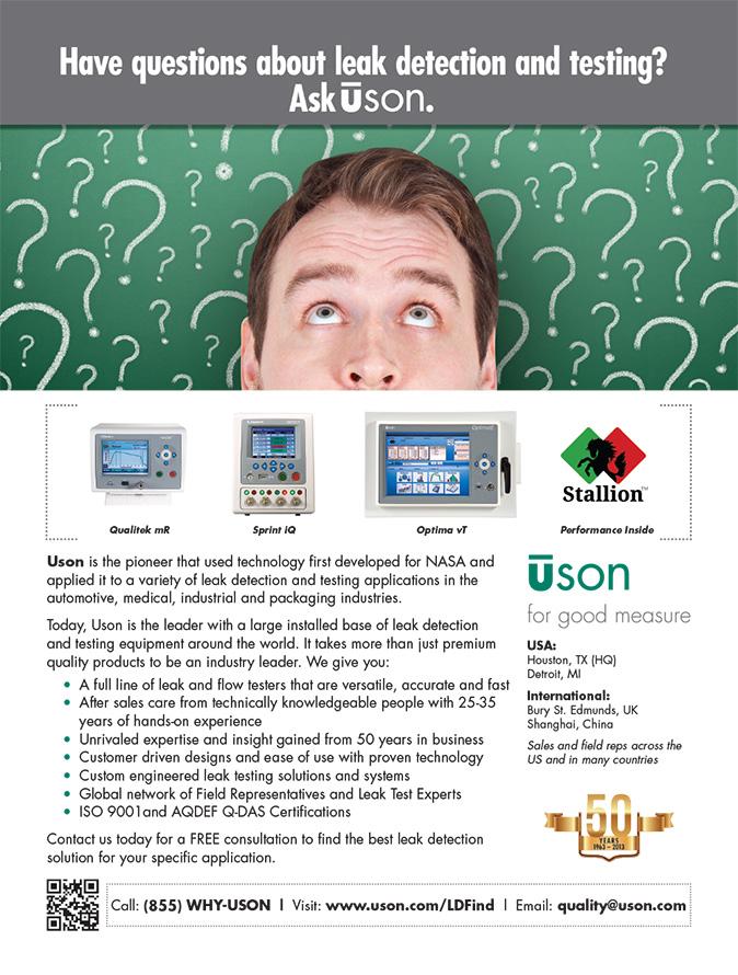 Print ad for manufacturer