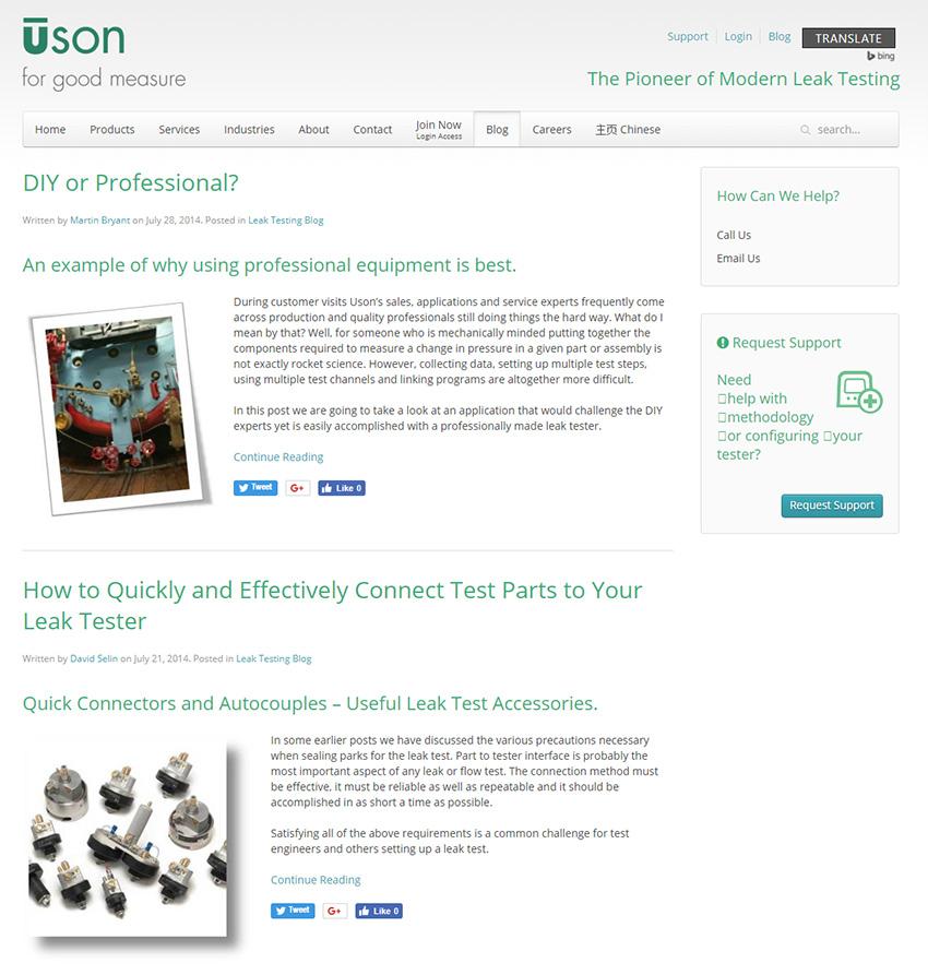 Industrial Content Marketing Blog